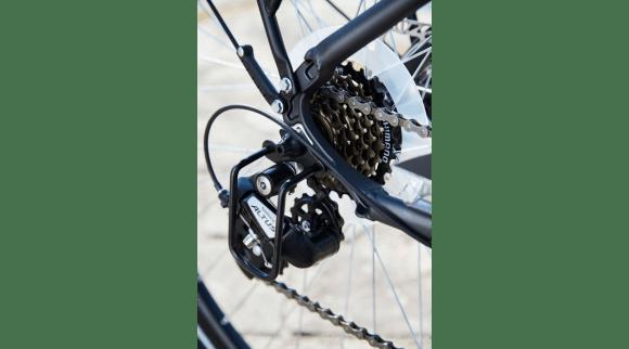 EssentielB Urban 600 VAE vélo électrique de ville Boulanger transmission