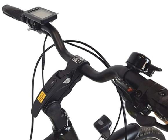 URBANBIKE VIENA VTC Trekking électrique display