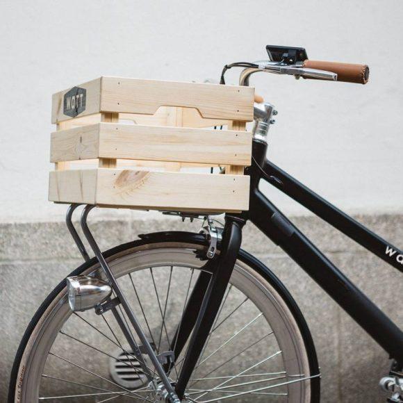 WATT Montreal vélo électrique léger porte bagage avant