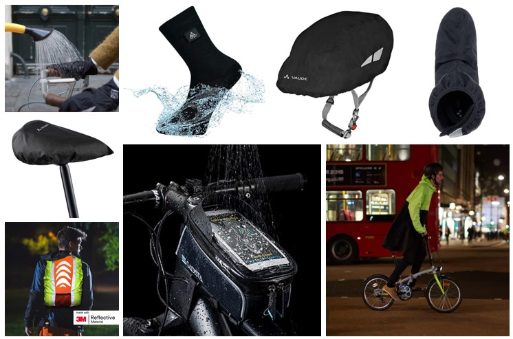 présentation protection pluie vélo