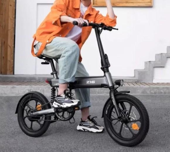 HIMO Z16 vélo pliant présentation