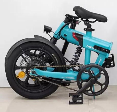 HIMO Z16 vélo pliant version plié
