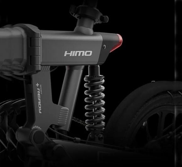 HIMO Z16 vélo pliant zoom suspension