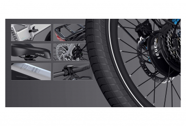 LEGEND BIKES Monza vélo électrique pliant photo 6