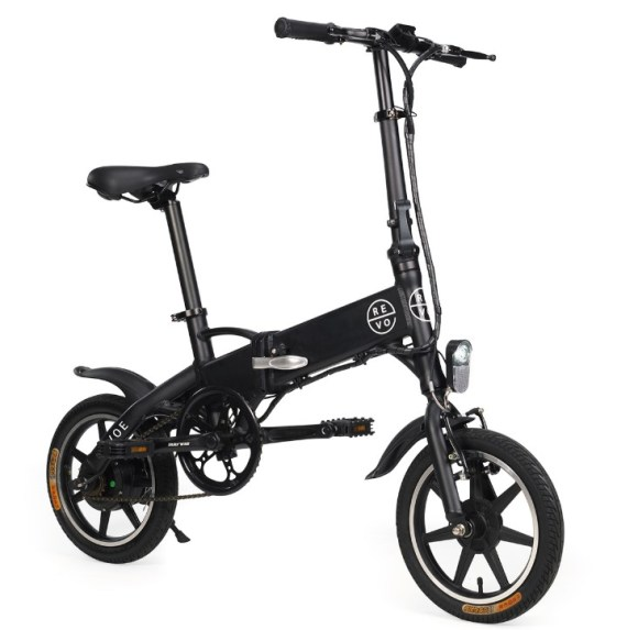 Revoe vélo electrique pliant trois quart face