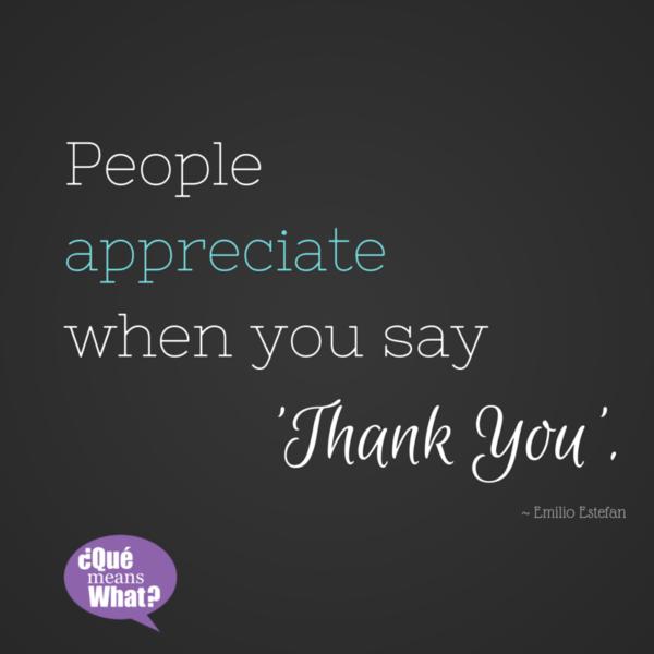 Gratitude Quote by Emilio Estefan QueMeansWhat.com