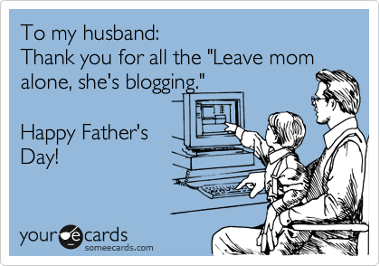Leave Mom Alone She's Blogging
