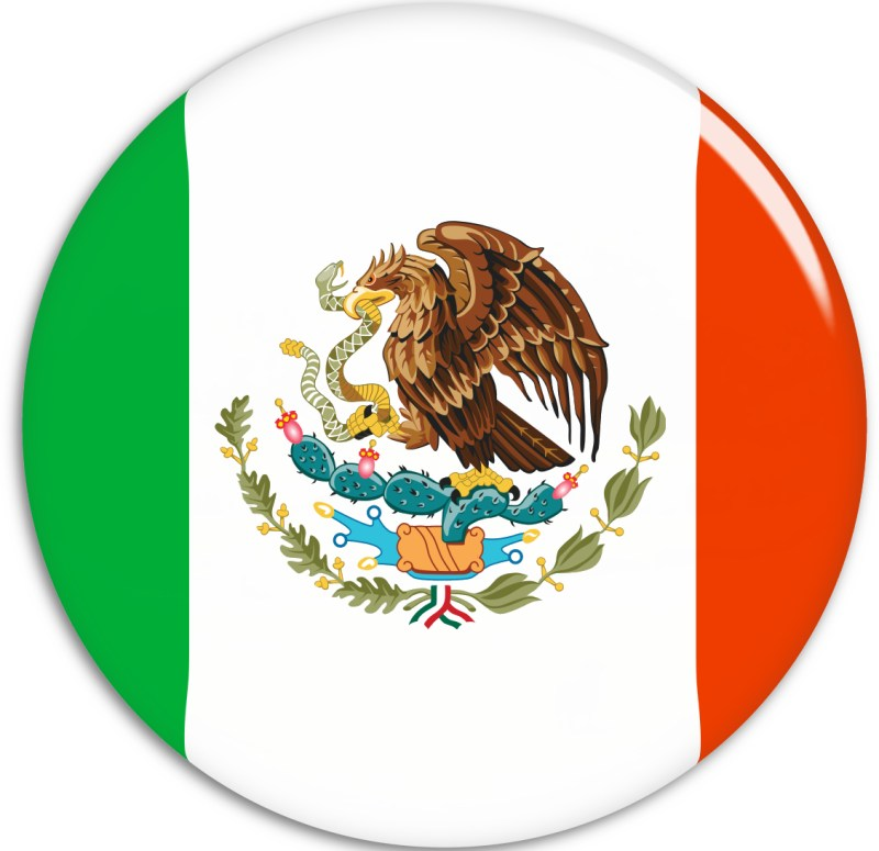Maybe if I wear a Mexican Flag Badge??