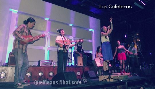 las-cafeteras-on-stage