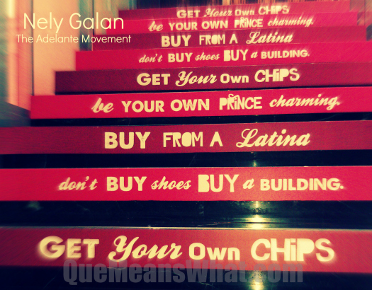 Nely Galan Quotes  - Don't Buy Shoes. Buy Buildings.