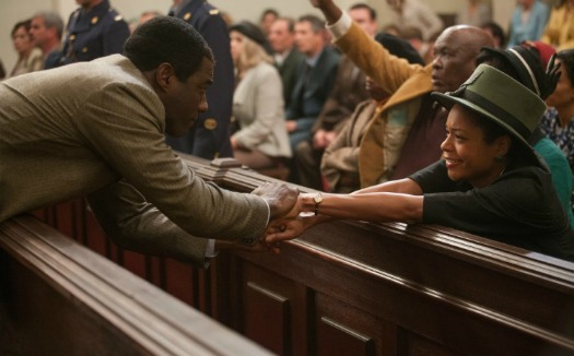 IDRIS ELBA and NAOMIE HARRIS star in MANDELA: LONG WALK TO FREEDOM Photo: Keith Bernstein © 2013 THE WEINSTEIN COMPANY. ALL RIGHTS RESERVED.