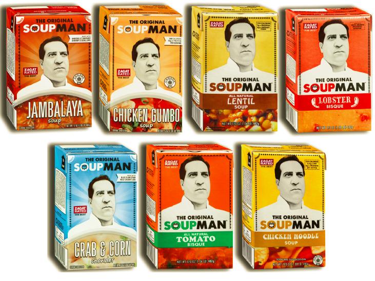 Soup for You! The Original Soupman #SoupManFan