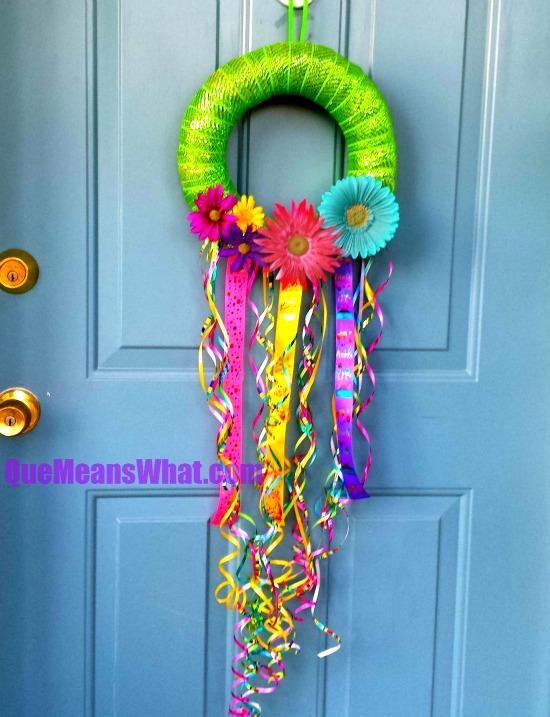 Fiesta Wreath QueMeansWhat