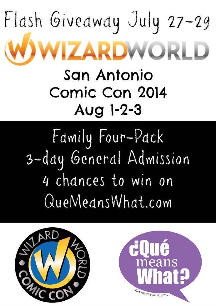 San Antonio Comic Con Giveaway