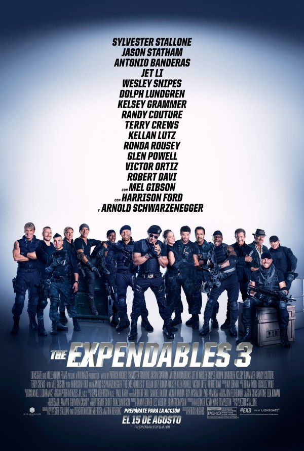 Expendables 3 Movie Ticket Giveaway