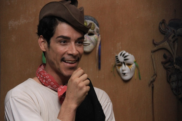 OSCAR JAENADA as CANTINFLAS in CANTINFLAS. Photography by Ángel González  Courtesy of KenioFilms.com and Pantelion Films