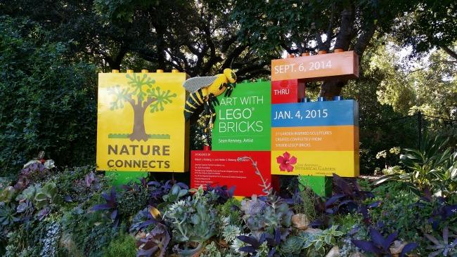 Art with Legos at SA Botanical Gardens
