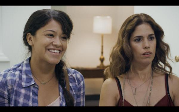 Gina Rodriquez and Ana Ortiz in Sleeping With the Fishes Photo credit: facebook.com/pages/Sleeping-With-The-Fishes