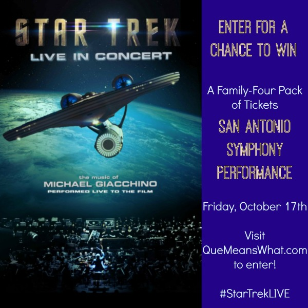 Star Trek Live with SA Symphony on QueMeansWhat dot com