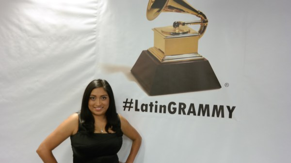 Melanie at 2014 Latin Grammys QueMeansWhat.com