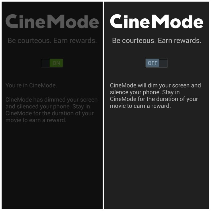Cinemark App Cinemode QueMeansWhat