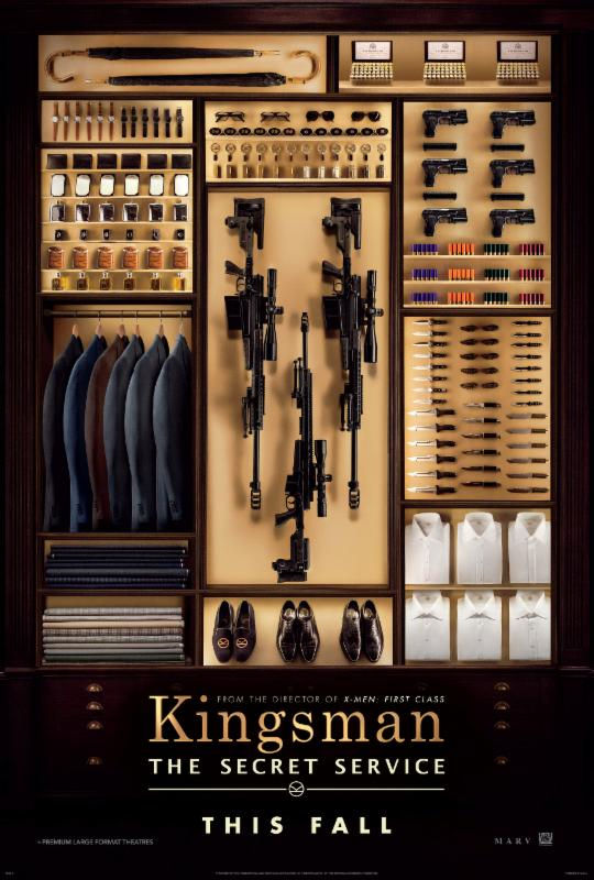 KINGSMEN Movie QueMeansWhat