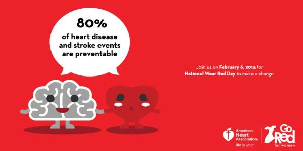 Red Red on February 6th 2014 QueMeansWhat American Heart Association
