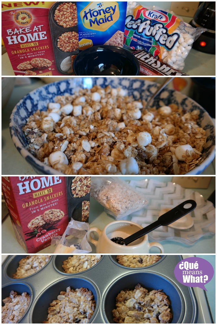 Baking with Honey Bunches of Oats Granola Snackers QueMeansWhat.com