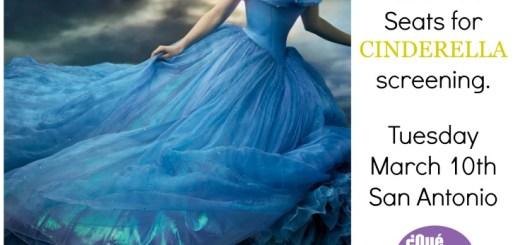 Cinderella Movie Screening San Antonio QueMeansWhat.com