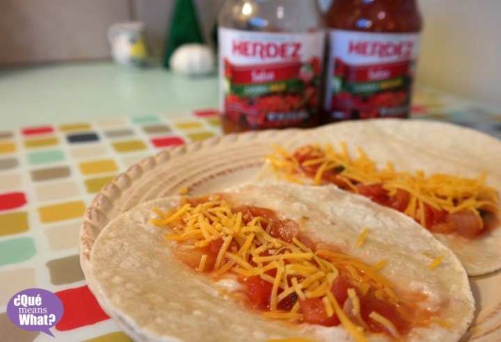 Marias Tortillas Recipe  with Herdez Salsa on QueMeansWhat