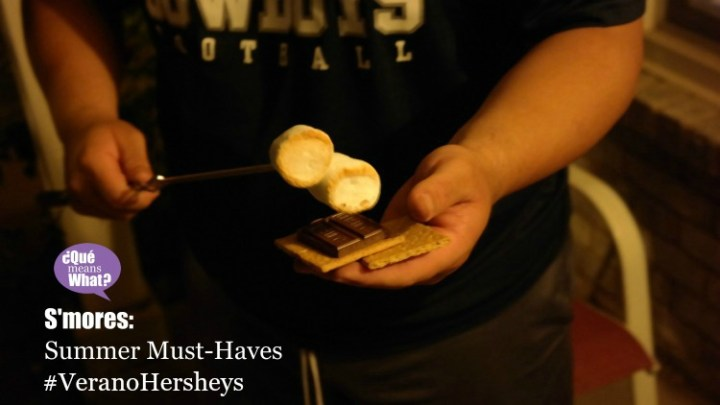 Smores Summer Must-Haves #VeranoHersheys QueMeansWhat.com