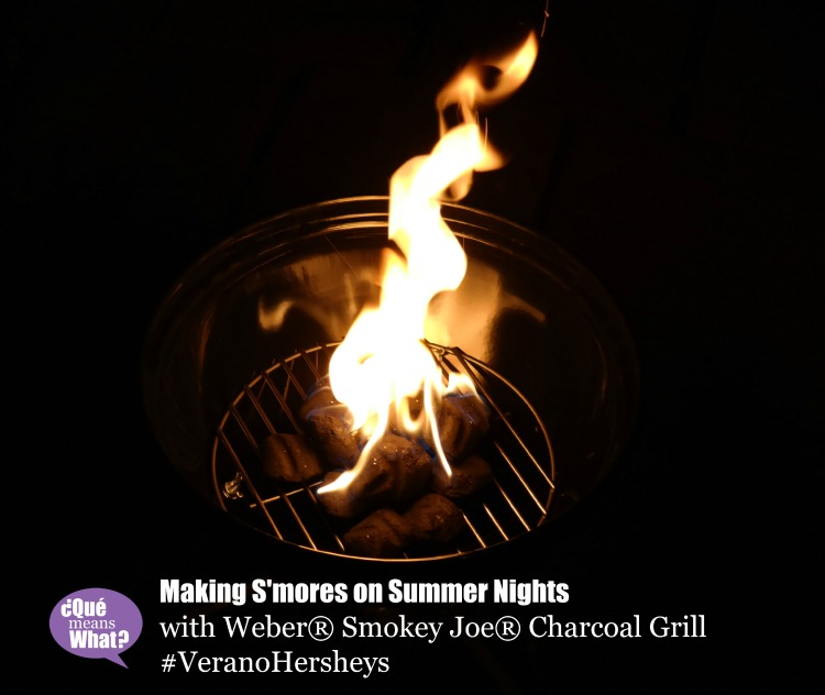 S'mores on Summer Nights with #VeranoHersheys @QueMeansWhat