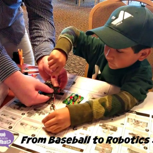 From Baseball to Robotics #DoinGood QueMeansWhat