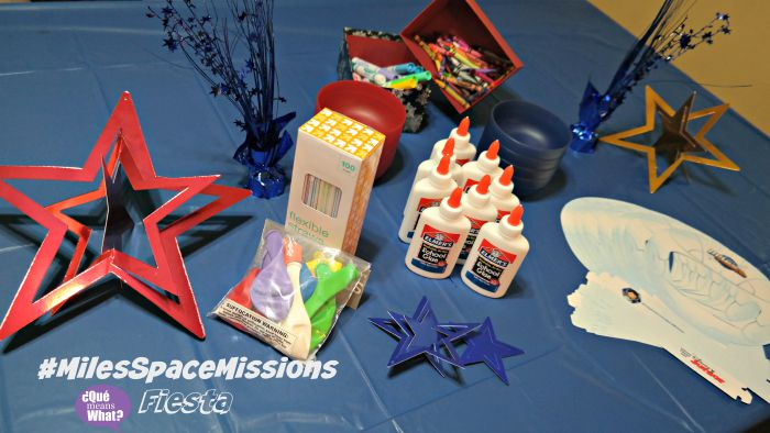 Party Materials for #MilesSpaceMissions Fiesta - QueMeansWhat.com