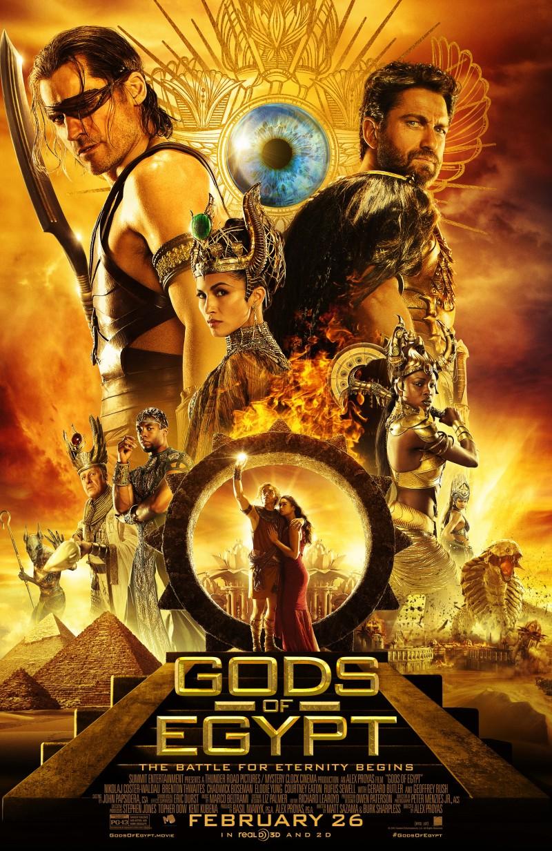 Gods of Egypt Movie Poster