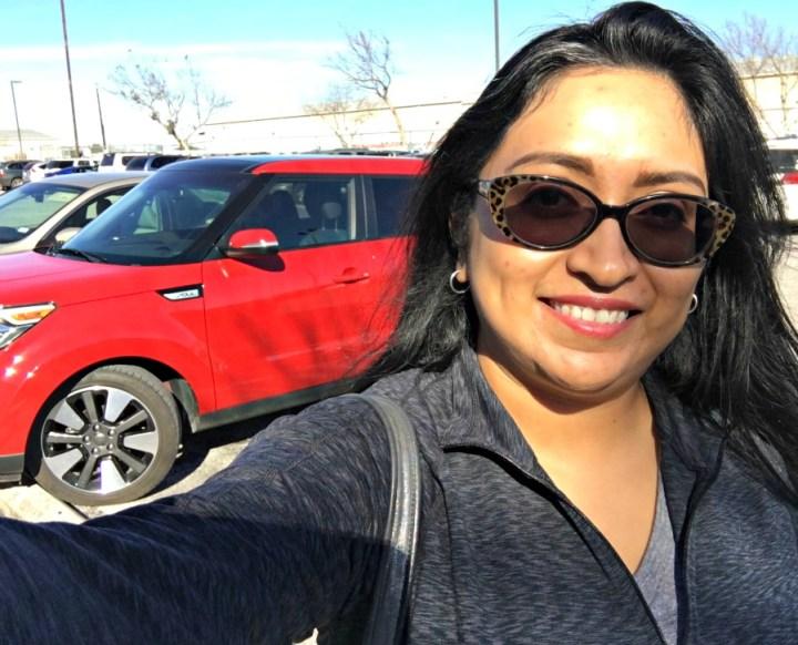 Melanie with KIA Soul