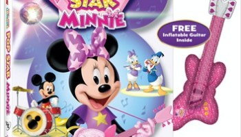 Mickey Mouse Clubhouse POP STAR MINNIE DVD Giveaway