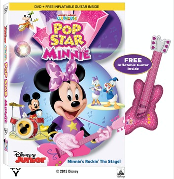 Pop Star Minnie DVD - Disney Junior
