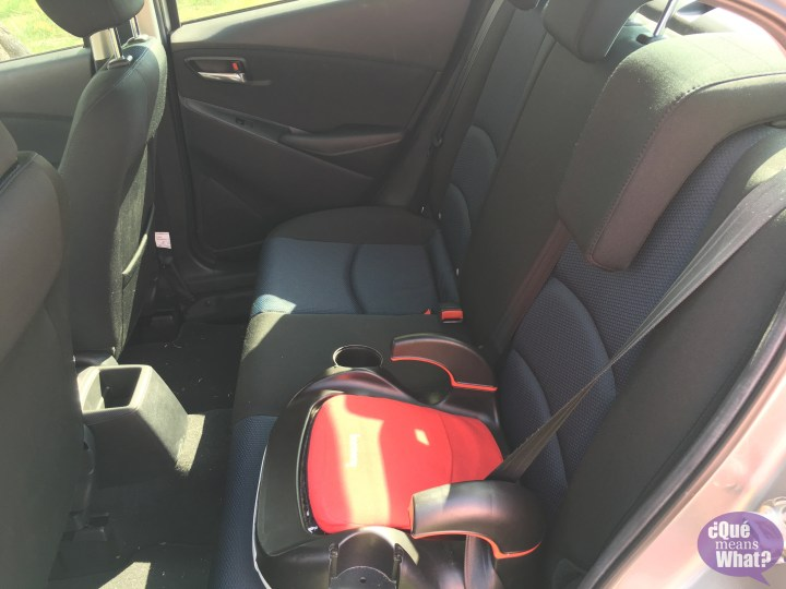 Toyota Scion iA Backseat
