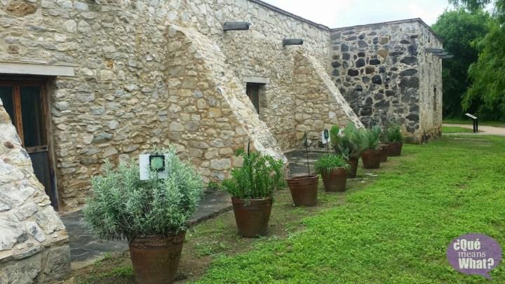 Garden at Mission San Juan National Park