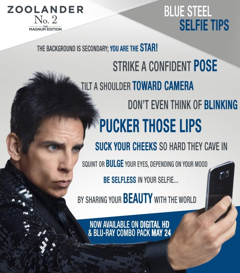 Zoolander Selfie