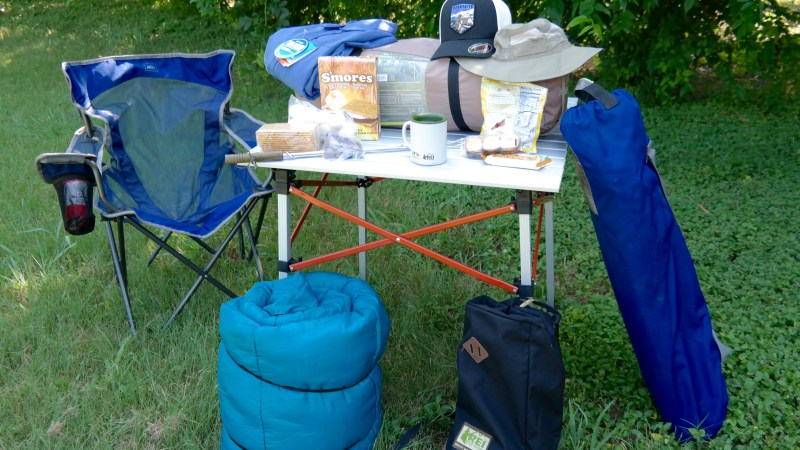 Together Our Familia Can Always Make Home Outdoors - Camping Gear