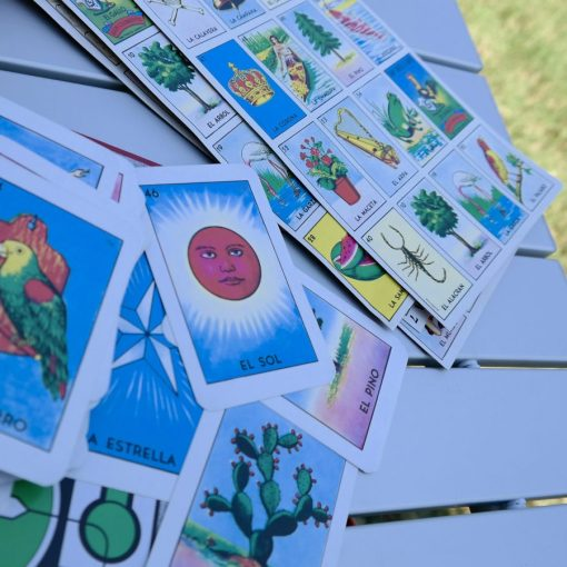 Together Our Familia Can Always Make Home Outdoors - Loteria Card Game
