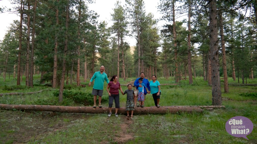Family Camping in Pike National Forest - Que Means What