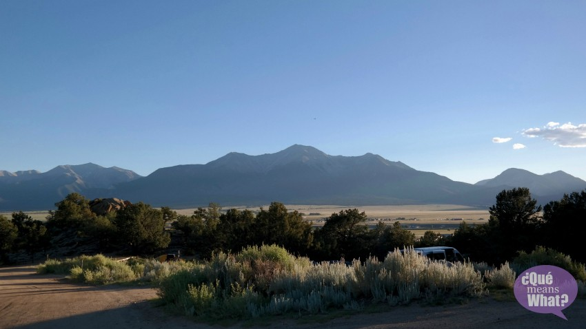 Mt. Princeton - Outdoor Camping in Colorado - Que Means What