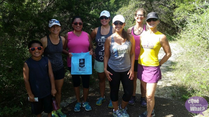 Trail Running Training Class at Government Canyon - Que Means What