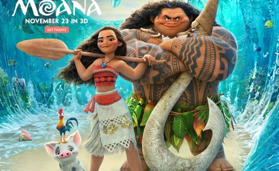 MOANA Movie in Theaters November 23, 2016