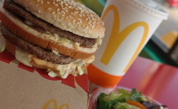 Grand Mac with Salad
