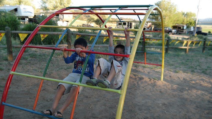 Playground at KOA
