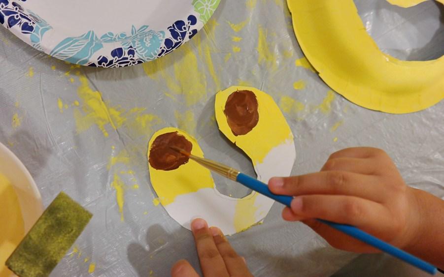 Lion Mask Kids Craft - QueMeansWhat.com